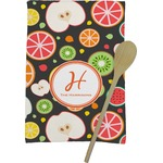 Apples & Oranges Kitchen Towel - Full Print (Personalized)