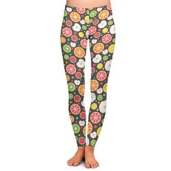Apples & Oranges Ladies Leggings - Medium (Personalized)