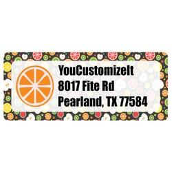 Apples & Oranges Return Address Labels (Personalized)