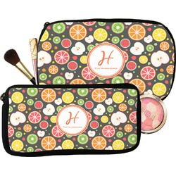 Apples & Oranges Makeup / Cosmetic Bag (Personalized)