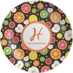 Apples & Oranges Melamine Plate (Personalized)