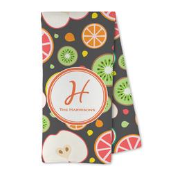 Apples & Oranges Microfiber Kitchen Towel (Personalized)