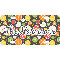 Apples & Oranges Mini / Bicycle License Plate (Personalized)