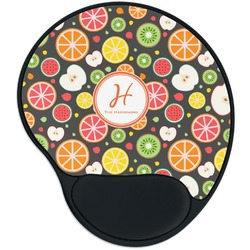 Apples & Oranges Mouse Pad with Wrist Support