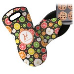 Apples & Oranges Neoprene Oven Mitt (Personalized)
