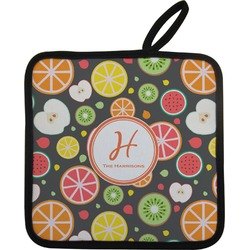 Apples & Oranges Pot Holder (Personalized)
