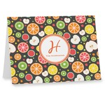 Apples & Oranges Note cards (Personalized)