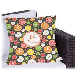 "Apples & Oranges Outdoor Pillow - 20"" (Personalized)"