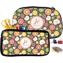 Apples & Oranges Pencil / School Supplies Bag (Personalized)