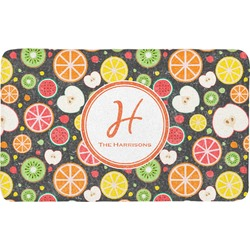 Apples & Oranges Bath Mat (Personalized)