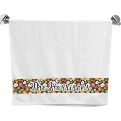 Apples & Oranges Bath Towel (Personalized)