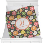 Apples & Oranges Blanket (Personalized)