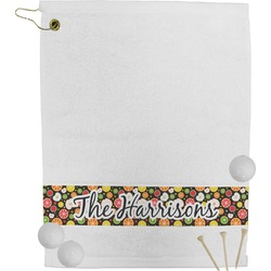 Apples & Oranges Golf Towel (Personalized)