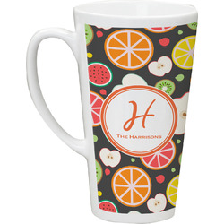 Apples & Oranges Latte Mug (Personalized)