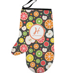 Apples & Oranges Left Oven Mitt (Personalized)
