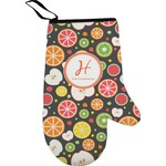 Apples & Oranges Right Oven Mitt (Personalized)