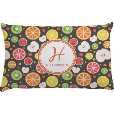 Apples & Oranges Pillow Case - King (Personalized)