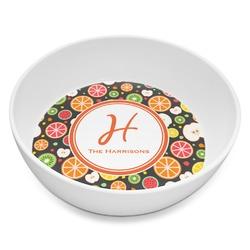 Apples & Oranges Melamine Bowl 8oz (Personalized)