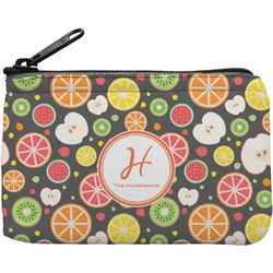 Apples & Oranges Rectangular Coin Purse (Personalized)