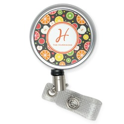 Apples & Oranges Retractable Badge Reel (Personalized)