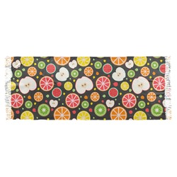 Apples & Oranges Faux Pashmina Scarf (Personalized)