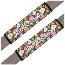 Apples & Oranges Seat Belt Covers (Set of 2) (Personalized)