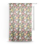 Apples & Oranges Sheer Curtains (Personalized)