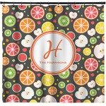 Apples & Oranges Shower Curtain (Personalized)