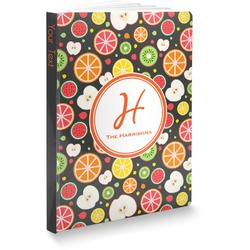 """Apples & Oranges Softbound Notebook - 5.75"""" x 8"""" (Personalized)"""
