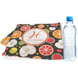 Apples & Oranges Sports & Fitness Towel (Personalized)