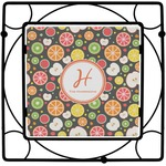 Apples & Oranges Square Trivet (Personalized)