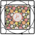 Apples & Oranges Square Trivet (Personalized)