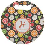 Apples & Oranges Stadium Cushion (Round) (Personalized)