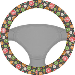 Apples & Oranges Steering Wheel Cover (Personalized)