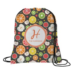 Apples & Oranges Drawstring Backpack (Personalized)
