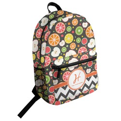 Apples & Oranges Student Backpack (Personalized)