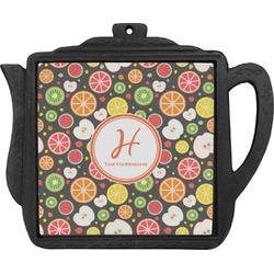 Apples & Oranges Teapot Trivet (Personalized)