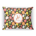 Apples & Oranges Rectangular Throw Pillow Case (Personalized)