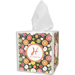 Apples & Oranges Tissue Box Cover (Personalized)