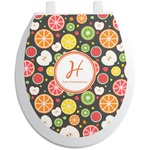 Apples & Oranges Toilet Seat Decal (Personalized)