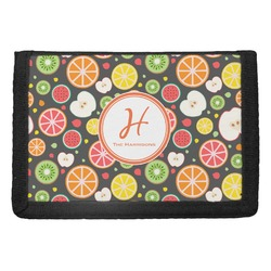 Apples & Oranges Trifold Wallet (Personalized)