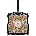 Apples & Oranges Trivet with Handle (Personalized)