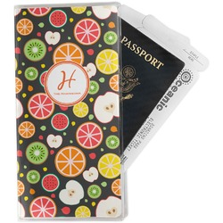 Apples & Oranges Travel Document Holder