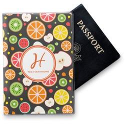 Apples & Oranges Vinyl Passport Holder (Personalized)