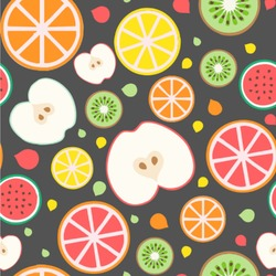 Apples & Oranges Wallpaper & Surface Covering