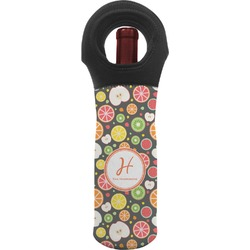 Apples & Oranges Wine Tote Bag (Personalized)