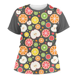 Apples & Oranges Women's Crew T-Shirt (Personalized)