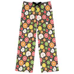 Apples & Oranges Womens Pajama Pants (Personalized)