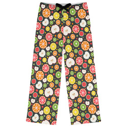 Apples & Oranges Womens Pajama Pants (Personalized)