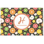 Apples & Oranges Woven Mat (Personalized)